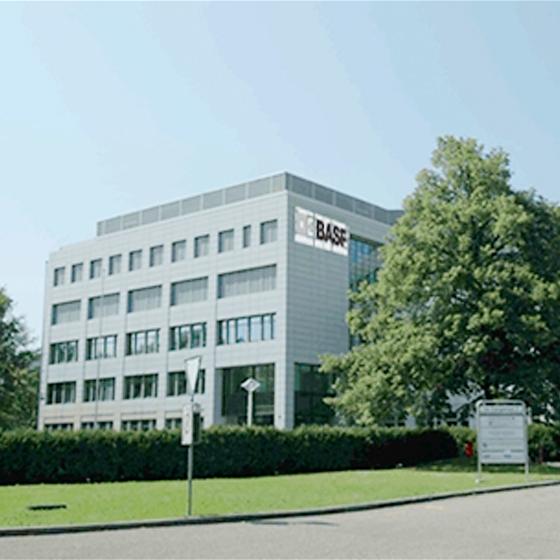 Büroausbau BASF Schweiz, Zürich