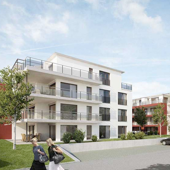 Neubau 2 Mehrfamilienhäuser, Bülach